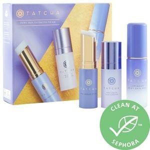BNIB LE Tatcha Dewy Skin Favorites To Go 3PC Set!!